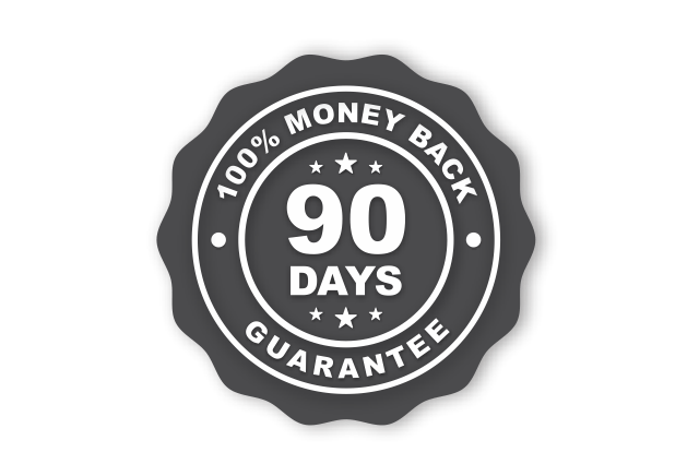 90 day guarantee - wider